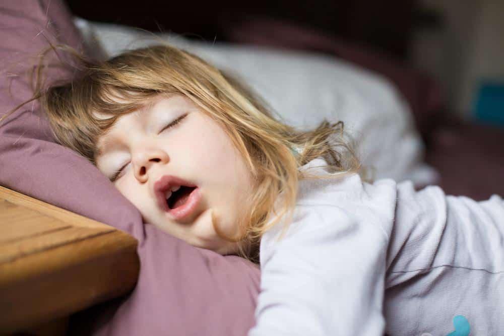 Child Snoring Whiel Sleeping